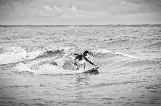 Sochi: surfing in the Black Sea