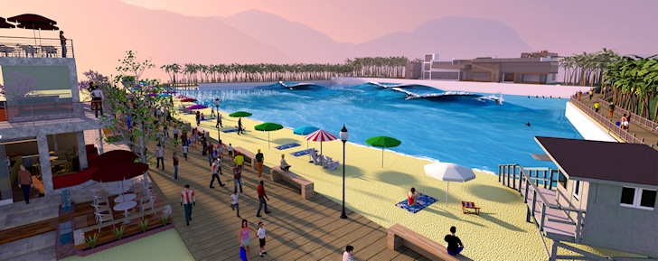Sochi: artificial wave pools are heading to Russia's favorite summer town
