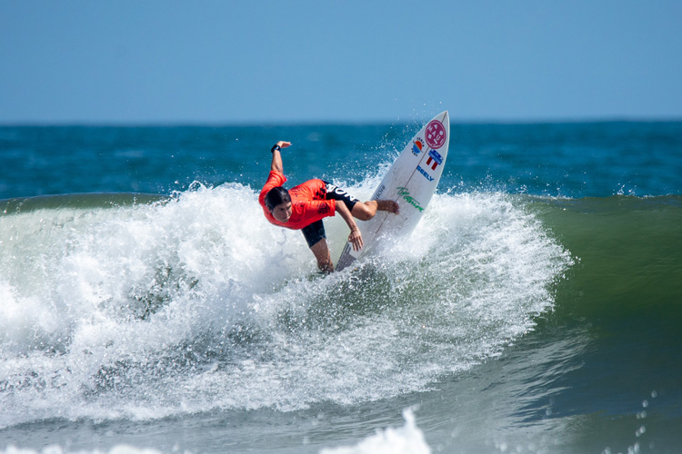 Sofia Mulanovich: the 2019 2019 ISA World Surfing Games champion | Photo: Jimenez/ISA