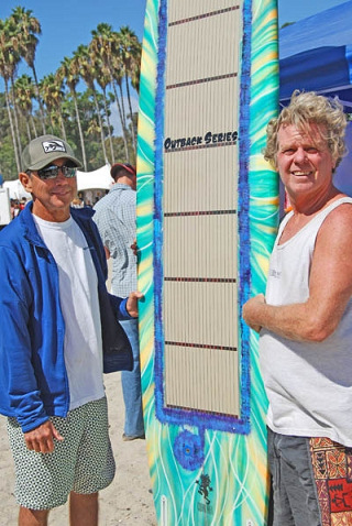 Solar Surfboard: Gerry Lopez and Tony Jones