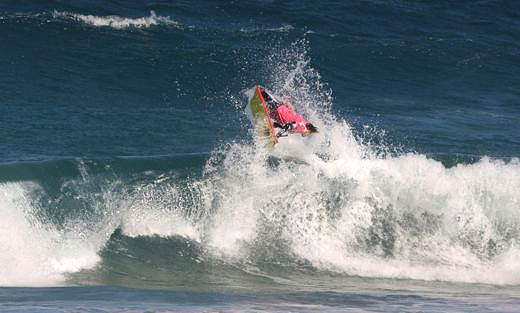 Soldiers Beach Pro: flyin' high