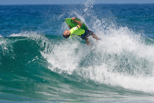 Soldiers Beach Pro: flipside views