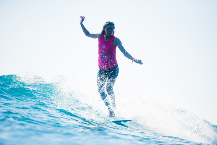 Soleil Errico: she is only 17 | Photo: WSL