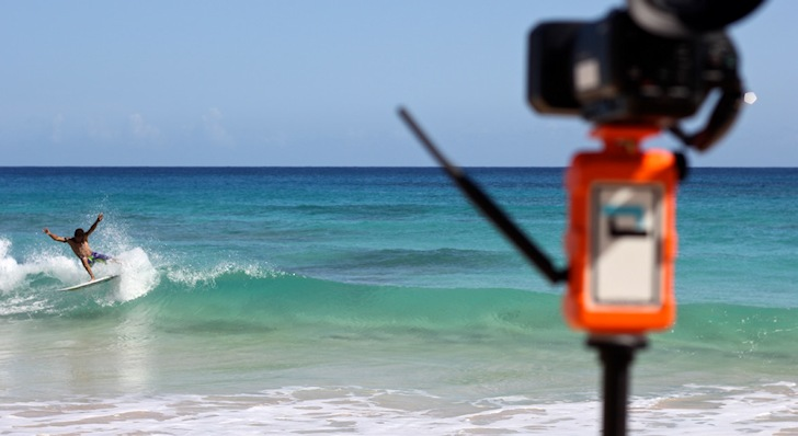 Soloshot: the automatic surf movie director
