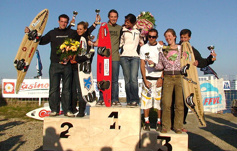 2008 Speed World Cup: Caizergues and Consorti crowned champions