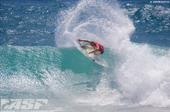 Surfing: speed is a crucial variable