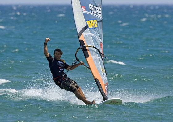 Speed windsurfing: beat Antoine Albeau, if you dare