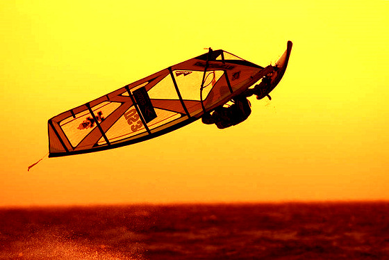 Windsurfing: a spiritual sport
