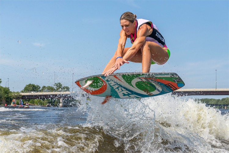 Stacia Bank: her head is still spinning after breaking the Guinness World Record | Photo: 10,000 Lakes Open