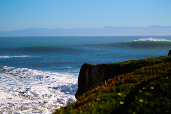 Steamer Lane, Santa Cruz: rough waters | Photo: O'Neill CwC