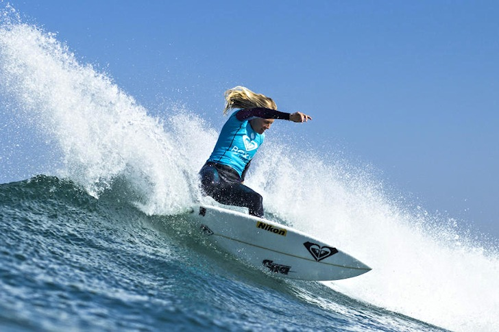 Stephanie Gilmore: ready for the sixth title | Photo: ASP/Poullenot