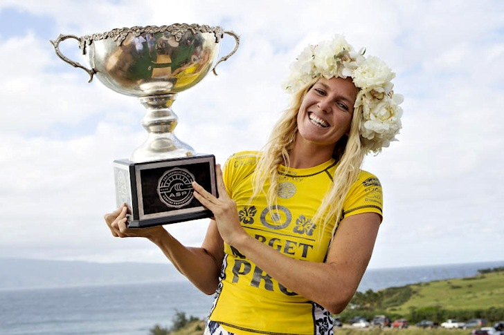 Stephanie Gilmore: sixth title in the bag | Photo: ASP/Kirstin Scholtz