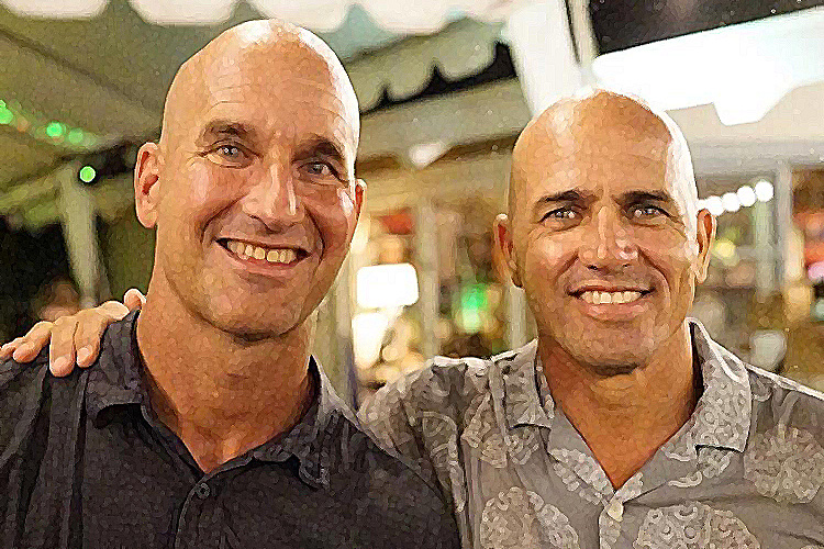 Mike Stewart and Kelly Slater: kings of their own castles