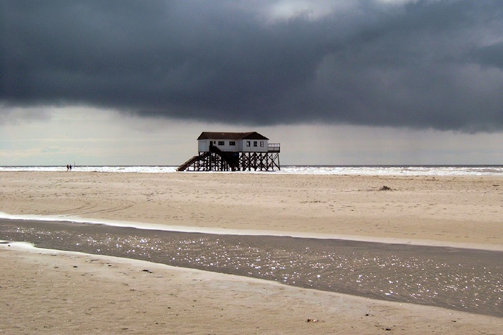 St. Peter-Ording, Germany: a natural painting