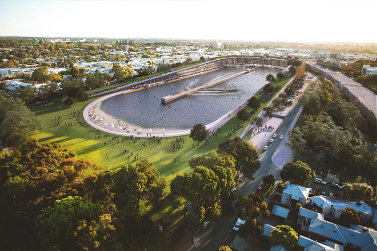 Subi Surf Park: Australia's first Wavegarden might be built in Perth | Photo: SSP