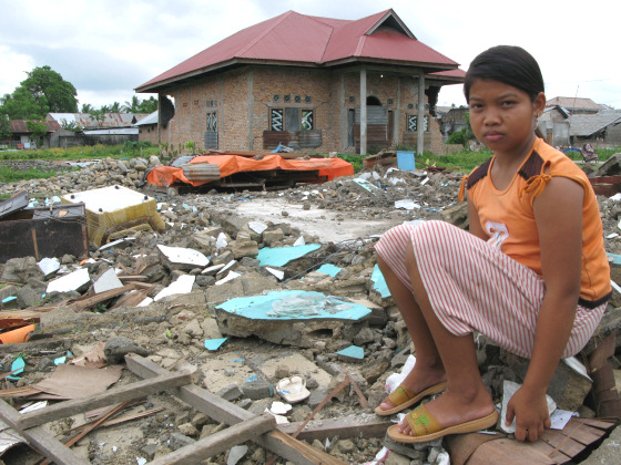 Students are raising funds to help the Sumatran children
