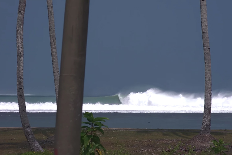 Sumatra: Joe Clarke, Chase O'Leary, and Jones Russell surfed one of the best swells of the year