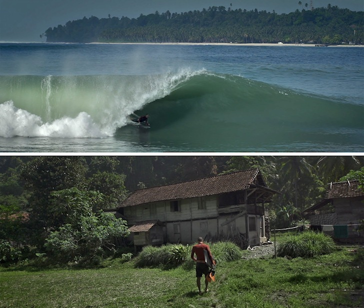 Sumatra: waves and jungle