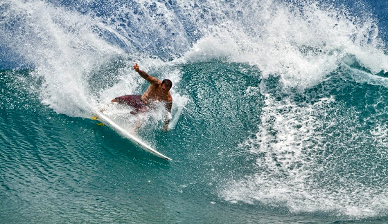 Sunny Garcia: power surfer, any doubts?