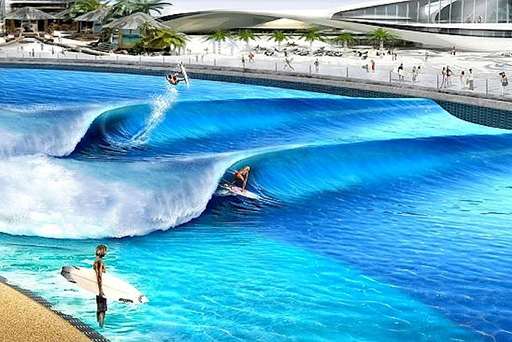 Artificial waves: surfers will design their own rides