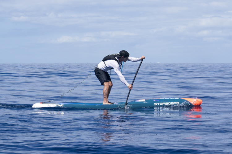 SUP Distance Racing: the marathon of stand-up paddleboarding | Photo: Evans/ISA