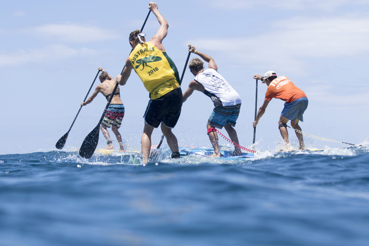 SUP Racing: is a stand-up paddleboard a surfboard or a canoe | Photo: Reed/ISA