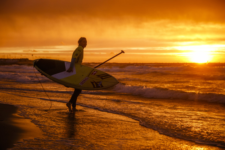 SUP: is a surfing or canoeing sport? | Photo: Reed/ISA