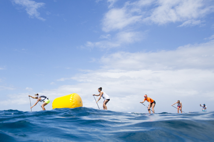 SUP Technical Racing: combining surfing, speed and steering skills | Photo: Reed/ISA