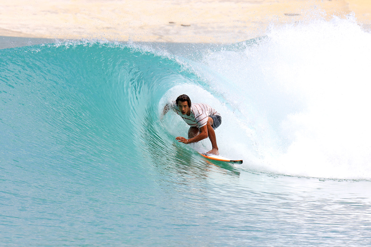 Surf Lakes: the Gold Coast facility will produce five levels of waves at the same time | Photo: Surf Lakes
