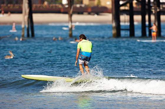 SurfAid Cup: waves were dangerous at Malibu