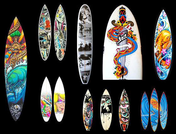 Surfboard art: adding photos and details to your favourite board