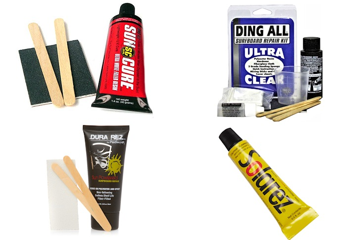 The best surfboard ding repair kits
