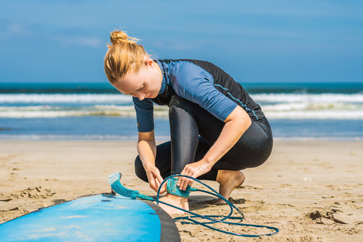 Surfboard leashes: a mandatory piece of equipment | Photo: Shutterstock