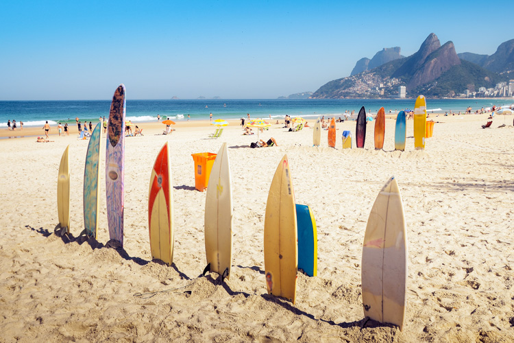 Surfboards: North America leads the surfboard market | Photo: Shutterstock