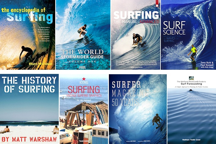 Surf Books: learn the history and science of surfing