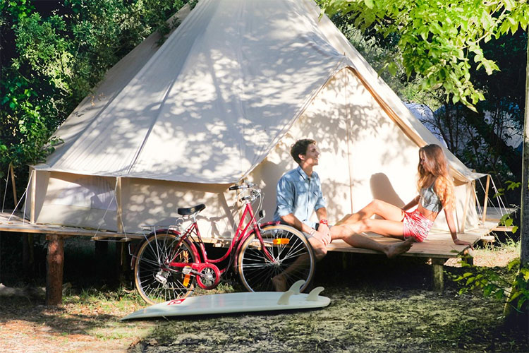 Surf camps: sometimes a tent is all you need | Photo: Dreamsea Surf Camp Spain