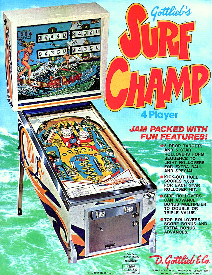 Surf Champ: the best pinball surfing game ever
