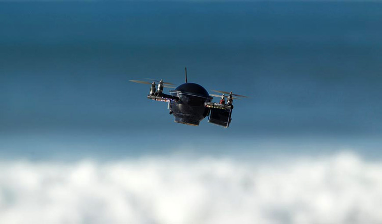 Drones: your eyes in the sky | Photo: Dan Warbrick/Rip Curl
