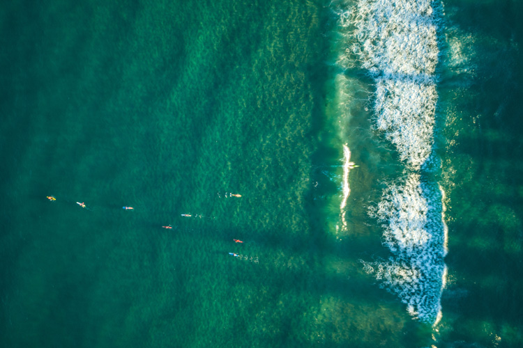 Drones: the new aerial surfing perspective