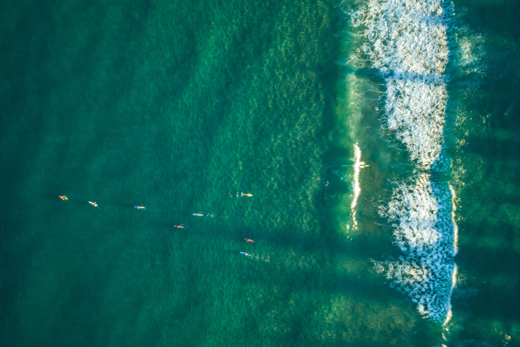 Soul surfers: a group of passionate wave riders who fight against the commercialization of the sport | Photo: Shutterstock