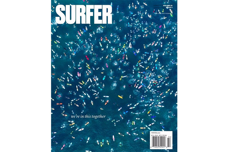 Surfer Magazine, No. 3, Volume 61: the last issue of the publication founded by John Severson
