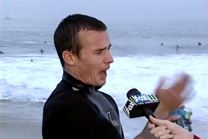 Surfer Dude: a hit in Fox News