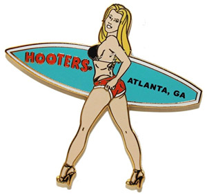 Surfer Girl Pin