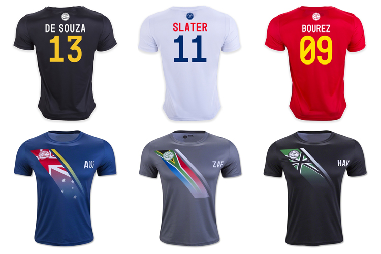 The surfer's jersey: the World Surf Leagues sells them for $79.99