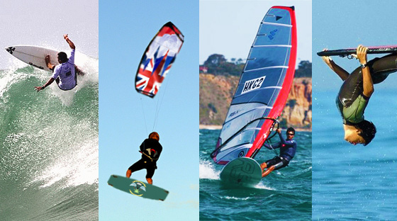 SurferToday.com: One Ocean, Four Sports