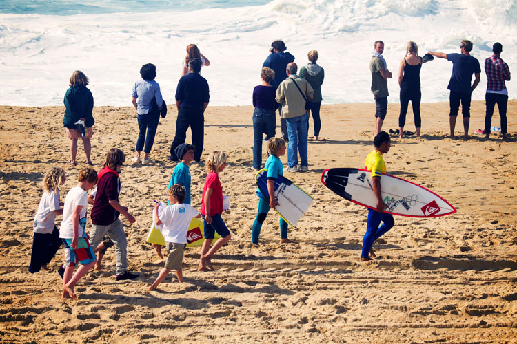 Surf fans: more followers, more sponsors | Photo: Bravo/Quiksilver