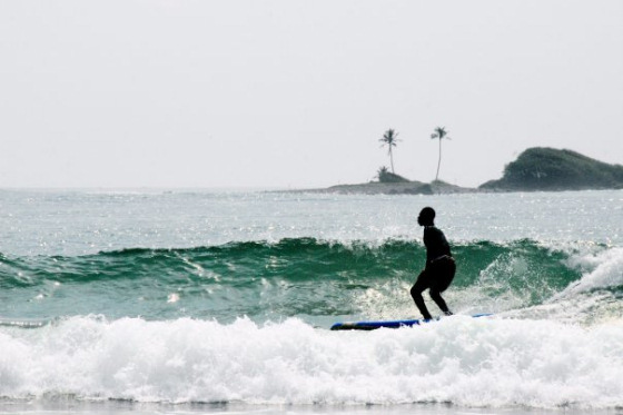 Ghana: 500km of waves
