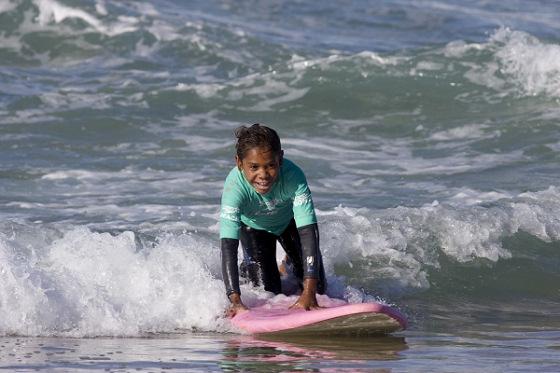 Indigenous surfing: so much fun