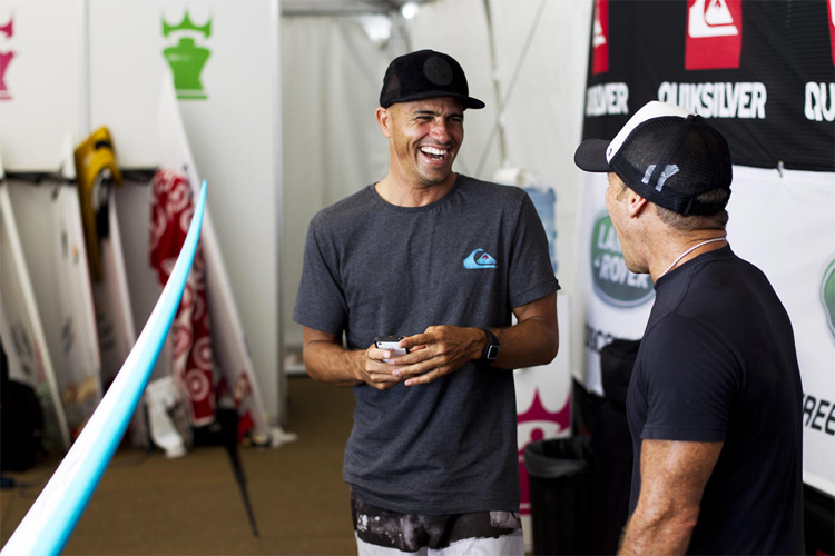 Surfing: a sport with hilarious jokes | Photo: WSL