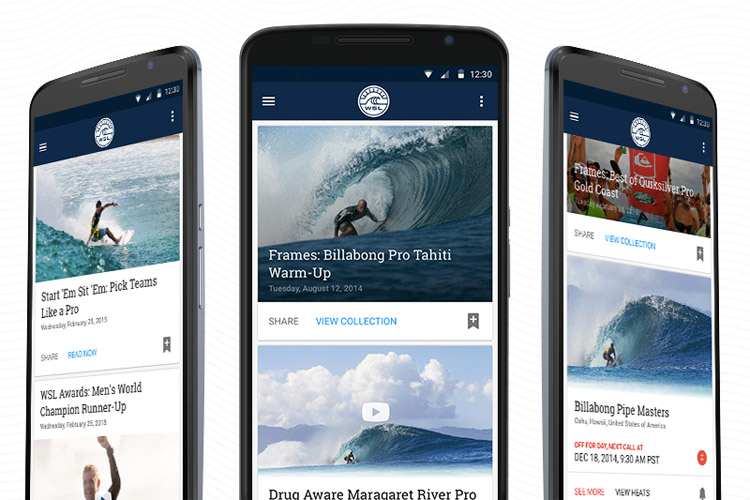 Smartphones: get the best apps for surfers